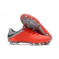 Nike Hypervenom Phantom 3 FG Neymar Boots - Crimson Gray