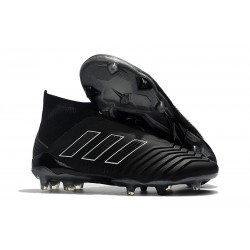 New adidas Predator 18+ FG Firm Ground Boots - Shadow Mode Black