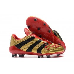 New adidas Predator Accelerator Electricity FG Boots - Golden Red Black