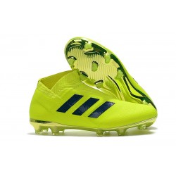 Adidas Nemeziz 18+ FG Mens Boots - Yellow Black