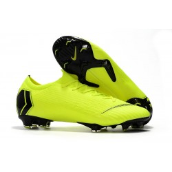 New Nike Mercurial Vapor XII Elite FG Cleats - Volt Black