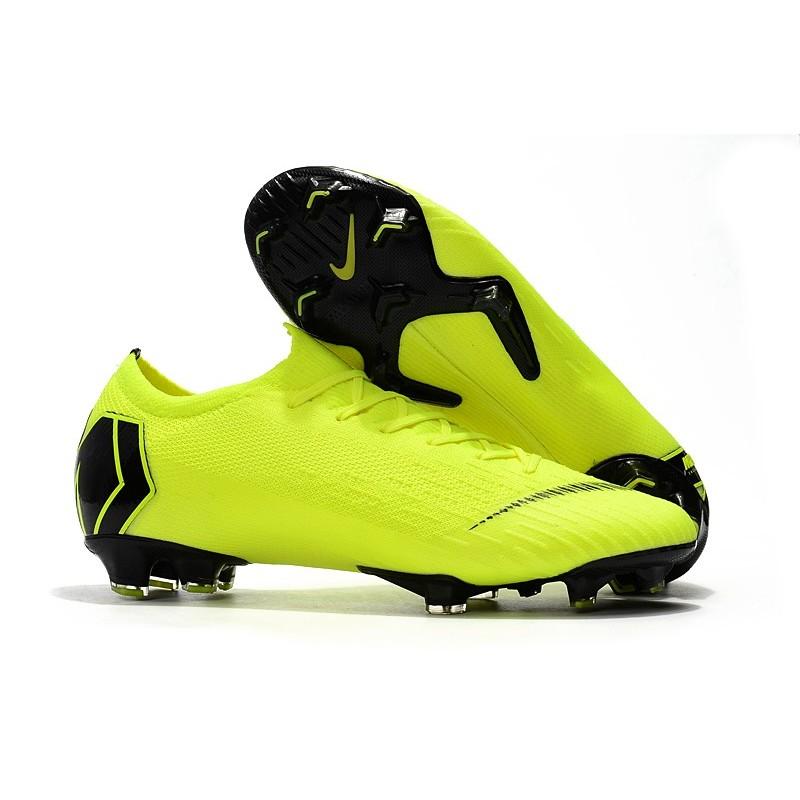 791cbdb3924 New Nike Mercurial Vapor XII Elite FG Cleats - Volt Black