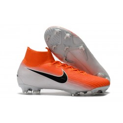 Nike Mercurial Superfly 6 Elite ACC FG Men's Boot - Orange White