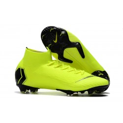 Nike Mercurial Superfly 6 Elite ACC FG Men's Boot - Volt Black