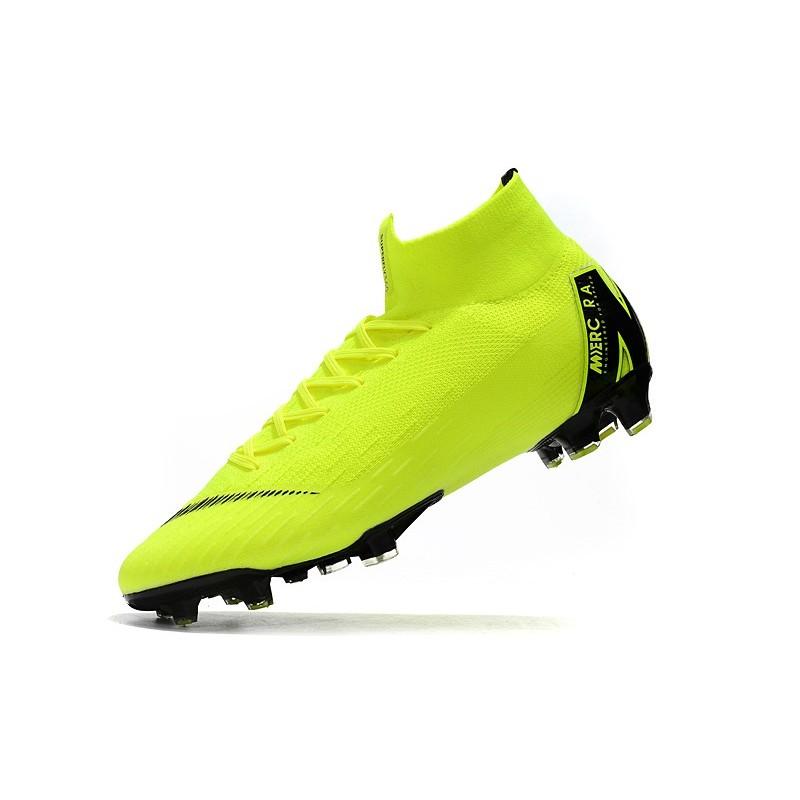 finest selection ba3af 3f9ce Nike Mercurial Superfly 6 Elite ACC FG Men's Boot - Volt Black