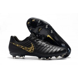 Nike Tiempo Legend 7 FG New Soccer Boots - Black Safari