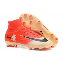 Nike Mercurial Superfly V FG Soccer Cleats - Red Gold