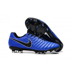 Nike Tiempo Legend 7 FG New Soccer Boots - Blue Black