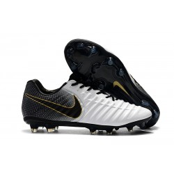 Nike Tiempo Legend 7 FG New Soccer Boots - White Black Gold