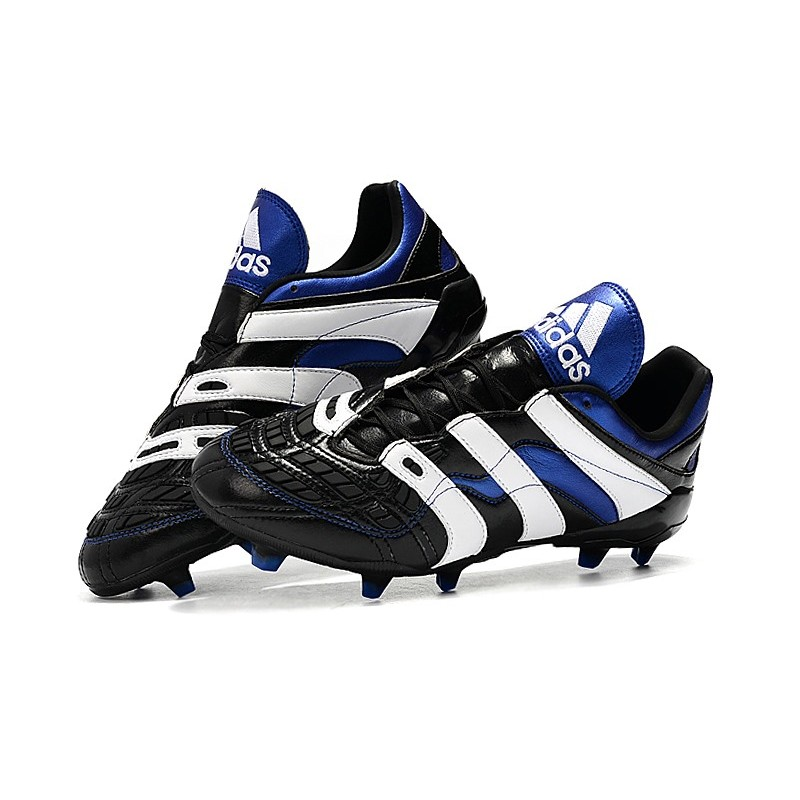 design de qualité b07c4 273f1 New adidas Predator Accelerator Electricity FG Boots - Black White Blue