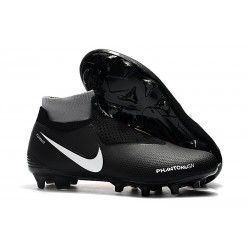 Nike Phantom VSN Elite DF FG New Boots - Black Orange White