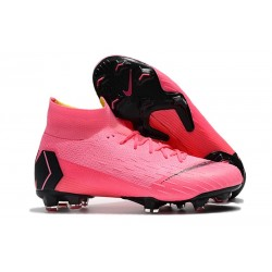Nike Mercurial Superfly 6 Elite ACC FG Men's Boot - Pink Black