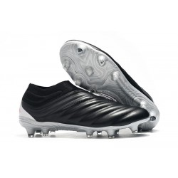 New Adidas Copa 19+ FG Soccer Shoes - Black Red