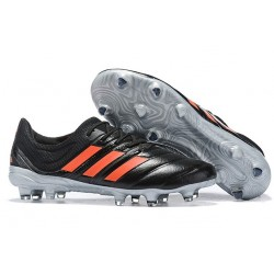 New adidas Copa 19.1 FG Soccer Shoes - Core Black Solar Red