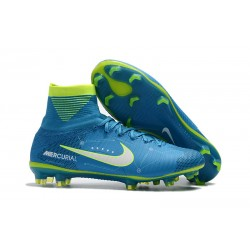 Neymar Nike Mercurial Superfly 5 FG Firm Ground Boots - Blue
