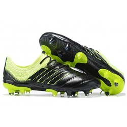 New adidas Copa 19.1 FG Soccer Shoes - Black Solar Yellow
