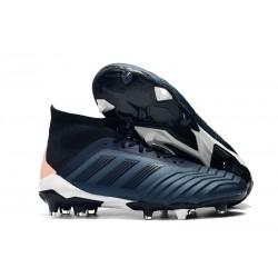 adidas 2018 Predator 18.1 FG Soccer Cleats - Cyan Black