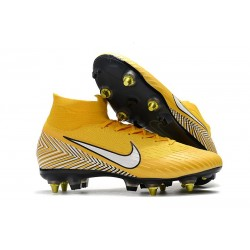 New Nike Mercurial Superfly 6 Elite SG-Pro AC Neymar Yellow
