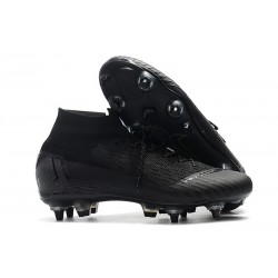 New Nike Mercurial Superfly 6 Elite SG-Pro AC Full Black