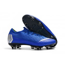 Nike Mercurial Vapor 12 Elite Anti-Clog SG-Pro Blue Silver
