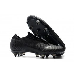 Nike Mercurial Vapor 12 Elite Anti-Clog SG-Pro All Black