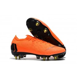 Nike Mercurial Vapor 12 Elite Anti-Clog SG-Pro Orange Black