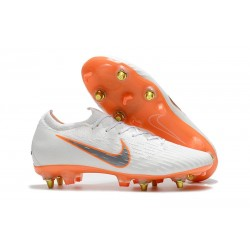 Nike Mercurial Vapor 12 Elite Anti-Clog SG-Pro White Orange