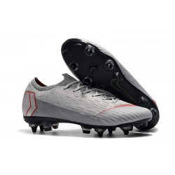 Nike Mercurial Vapor XII Elite SG-Pro AC Grey Red