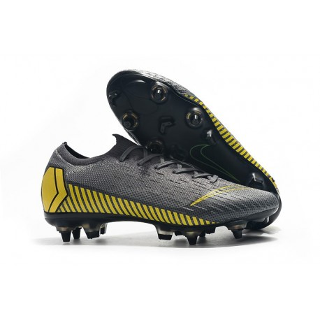 latest design factory outlets really comfortable Nike Mercurial Vapor XII Elite SG-Pro AC Grey Yellow