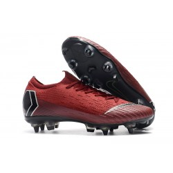 Nike Mercurial Vapor XII Elite SG-Pro AC Red Black