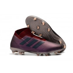 Adidas Nemeziz 18+ FG Mens Boots - Purple Black