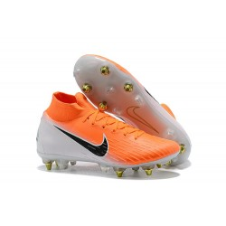 New Nike Mercurial Superfly 6 Elite SG-Pro AC Orange White
