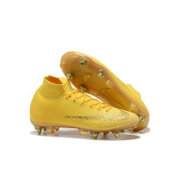 New Nike Mercurial Superfly 6 Elite SG-Pro AC Yellow Gold