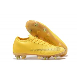 Nike Mercurial Vapor XII Elite SG-Pro AC Yellow Golden