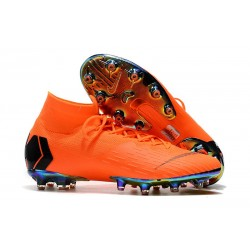 Nike Mercurial Superfly VI Elite AG-Pro Cleats Crimson Black