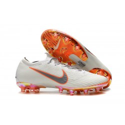 New Collection Nike Mercurial Vapor XII Elite AG-Pro White Orange