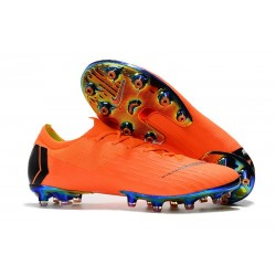 New Collection Nike Mercurial Vapor XII Elite AG-Pro Orange Black