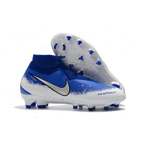 Nike Phantom VSN Elite DF FG New Boots - Blue White