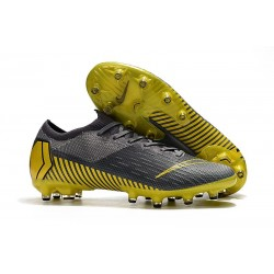 New Collection Nike Mercurial Vapor XII Elite AG-Pro Grey Yellow