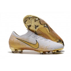 Nike Mercurial Vapor XII 360 Elite FG ACC Cleats - White Gold