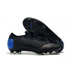 Nike Mercurial Vapor XII 360 Elite FG ACC Cleats - Black Blue Orange