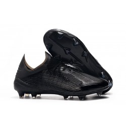 adidas X 19.1 FG Firm Ground Soccer Cleats All Black