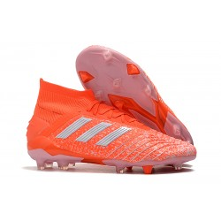New adidas Predator 19.1 FG Firm Ground Boots - Orange White