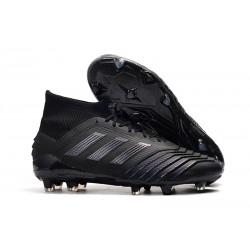 New adidas Predator 19.1 FG Firm Ground Boots - All Black