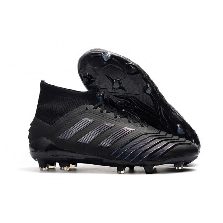 New adidas Predator 19.1 FG Firm Ground Boots - All Black