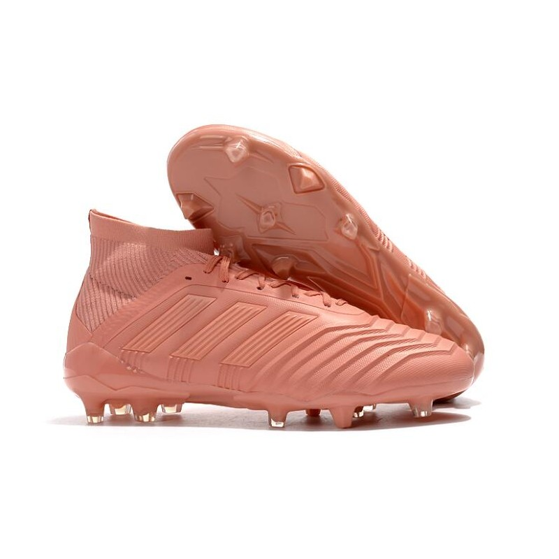 adidas 2018 Predator 18.1 FG Soccer Cleats Pink