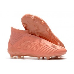 New adidas Predator 18+ FG Firm Ground Boots - Full Pink