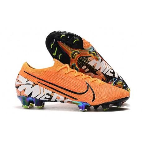 Nike Mercurial Vapor 13 Elite FG New Shoes - Orange White