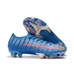 Nike Mercurial Vapor 13 Elite FG New Shoes - Blue Red