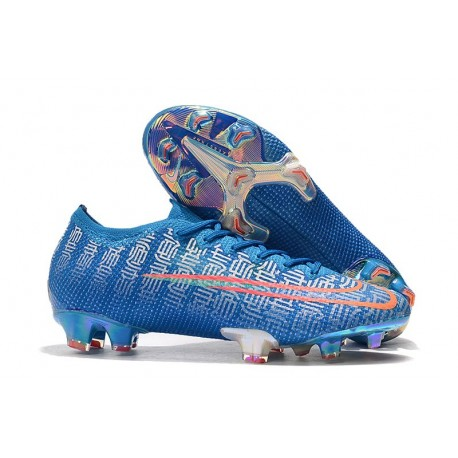 Nike Mercurial Vapor 13 Elite FG New Shoes - Blue Red